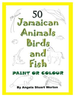 colour or paint jamaican childrens book